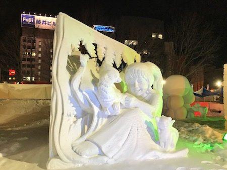 中国国際雪像コンクール