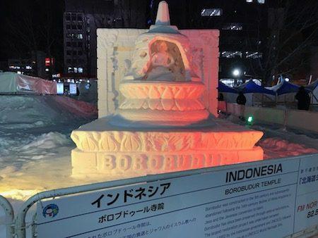 インドネシア国際雪像コンクール