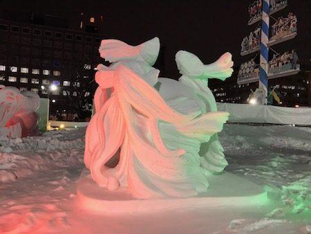 タイ国際雪像コンクール