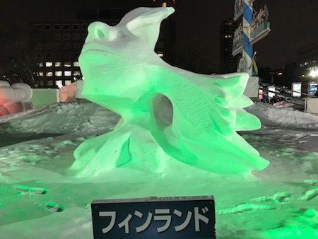 フィンランド国際雪像